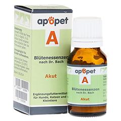 APOPET A Akut Blüteness.n.Dr.Bach Glob.vet. 12 Gramm