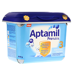 APTAMIL Pronutra 3 Folgemilch ab 10.M.SAFEBOX Plv. 800 Gramm