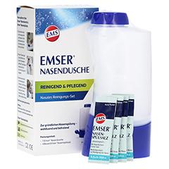 EMSER Nasendusche mit 4 Btl.Nasenspülsalz 1 Stück