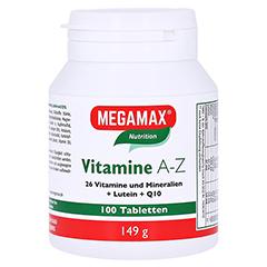 MEGAMAX Vitamine A-Z+Q10+Lutein Tabletten 100 Stück