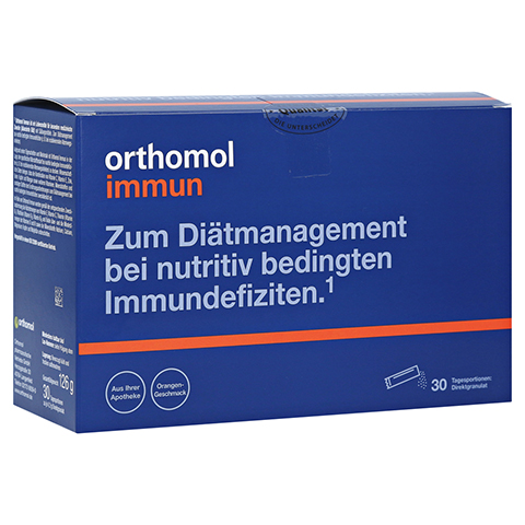 Orthomol Immun Direktgranulat Orange 30 Stück