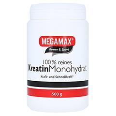KREATIN MONOHYDRAT 100% Megamax Pulver 500 Gramm