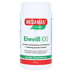 EIWEISS 100 Vanille Megamax Pulver 400 Gramm