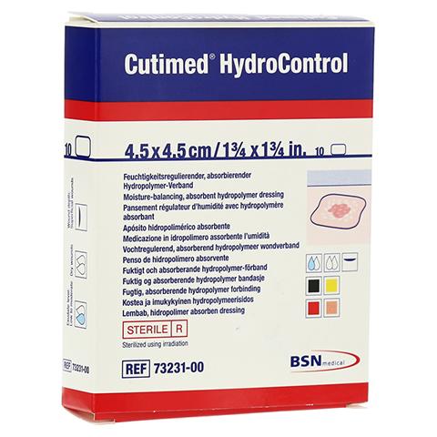 CUTIMED HydroControl Kompr.4,5x4,5 cm 10 Stück