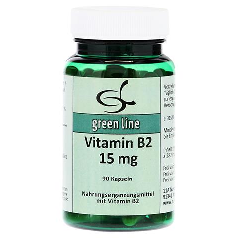 VITAMIN B2 15 mg Kapseln 90 Stück