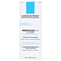 La Roche-Posay Rosaliac UV Legere Leichte Feuchtigkeitspflege mit UV-Schutz gegen Rötungen 40 Milliliter - Rückseite
