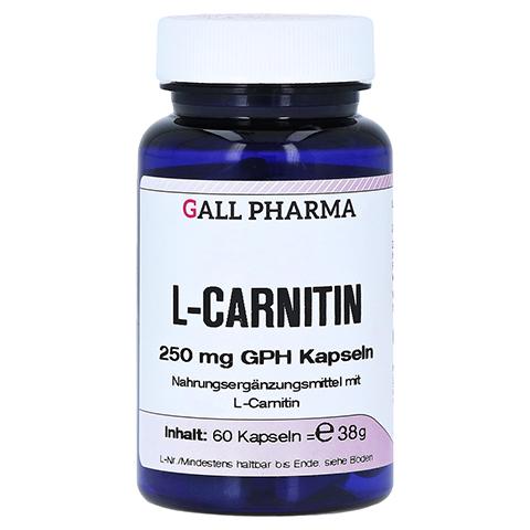 L-CARNITIN 250 mg Kapseln 60 Stück