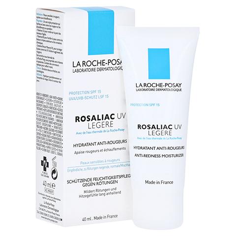 La Roche-Posay Rosaliac UV Legere Leichte Feuchtigkeitspflege mit UV-Schutz gegen Rötungen 40 Milliliter