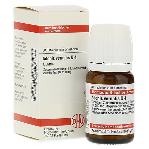 ADONIS VERNALIS D 4 Tabletten 80 Stück N1
