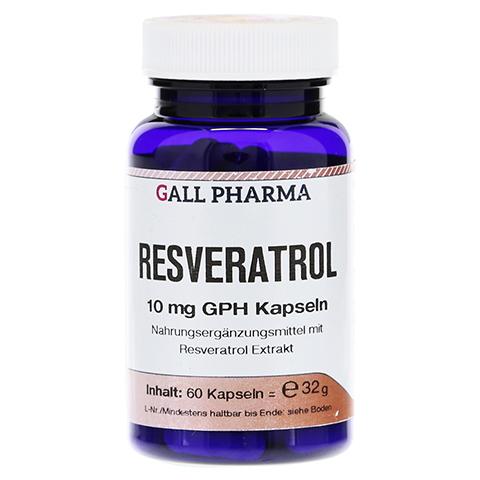 RESVERATROL 10 mg GPH Kapseln 60 Stück
