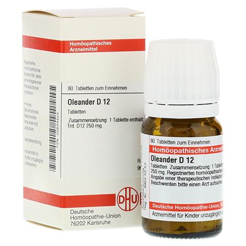OLEANDER D 12 Tabletten 80 Stück N1