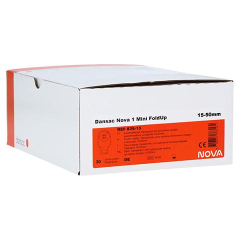DANSAC Nova 1 FoldUp Ausstr.B.1t.mini 15-50mm tra. 30 Stück