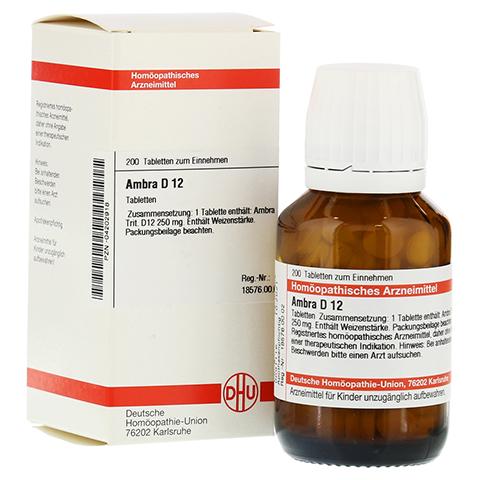 AMBRA D 12 Tabletten 200 Stück N2