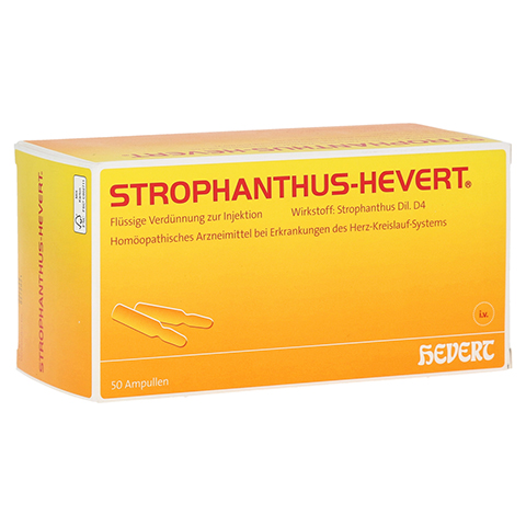 STROPHANTHUS HEVERT Ampullen 50 Stück N2