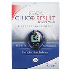 STADA Gluco Result To Go plus Blutzuckermes.mg/dl 1 Stück - Vorderseite