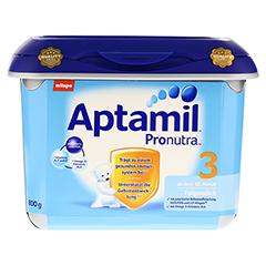 APTAMIL Pronutra 3 Folgemilch ab 10.M.SAFEBOX Plv. 800 Gramm - Vorderseite