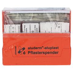 ALUDERM aluplast Pflasterspender Erw. 1 Stück - Vorderseite
