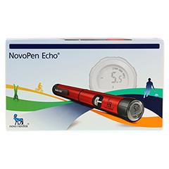NOVOPEN Echo Injektionsgerät rot 1 Stück - Vorderseite