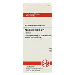 ADONIS VERNALIS D 4 Tabletten 80 Stück N1 - Vorderseite