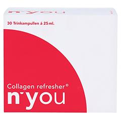 N'YOU Collagen refresher Trinkampullen 30x25 Milliliter - Vorderseite