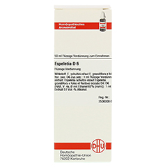 ESPELETIA D 6 Dilution 50 Milliliter N1 - Vorderseite