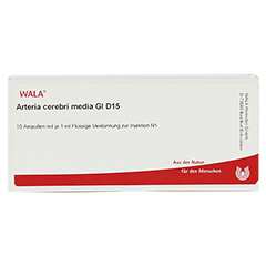 ARTERIA CEREBRI media GL D 15 Ampullen 10x1 Milliliter N1 - Vorderseite