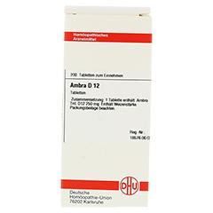 AMBRA D 12 Tabletten 200 Stück N2 - Vorderseite