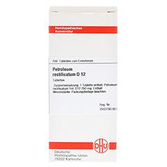 PETROLEUM RECTIFICATUM D 12 Tabletten 200 Stück N2 - Vorderseite