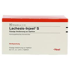 LACHESIS INJEEL S Ampullen 50 Stück N2 - Vorderseite