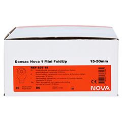 DANSAC Nova 1 FoldUp Ausstr.B.1t.mini 15-50mm tra. 30 Stück - Vorderseite
