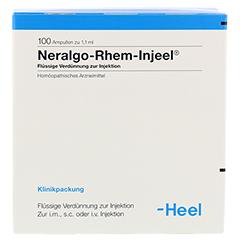 NERALGO Rhem Injeel Ampullen 100 Stück N3 - Vorderseite