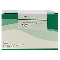 ALLYA-Injektopas Ampullen 100 Stück - Linke Seite