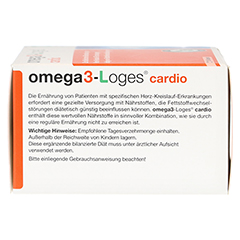 OMEGA3-Loges cardio Kapseln 120 Stück - Linke Seite