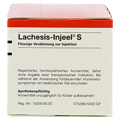 LACHESIS INJEEL S Ampullen 50 Stück N2 - Linke Seite