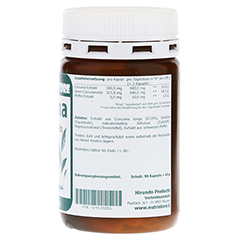 CURCUMA 340 mg Extrakt Kapseln 90 Stück - Linke Seite