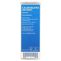 CALMVALERA Hevert Tropfen 50 Milliliter N1 - Linke Seite
