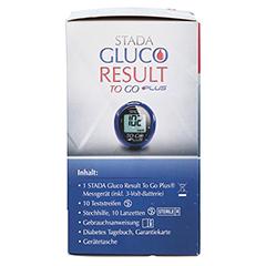 STADA Gluco Result To Go plus Blutzuckermes.mg/dl 1 Stück - Rechte Seite