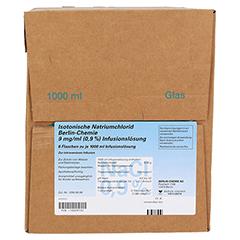 ISOTONISCHE NaCl BC 9 mg/ml 0,9% Inf.-Lsg.Glasfl. 6x1000 Milliliter - Rechte Seite