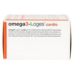 OMEGA 3-Loges cardio Kapseln 120 Stück - Rechte Seite