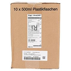 RINGER LÖSUNG DAB 7 Plastik 10x500 Milliliter N2 - Rechte Seite
