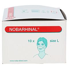 NOBARHINAL Nasenverband groß 10 Stück - Rechte Seite