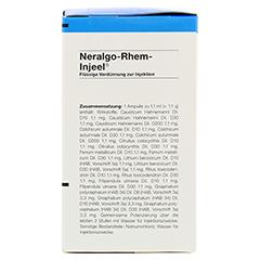 NERALGO Rhem Injeel Ampullen 100 Stück N3 - Rechte Seite