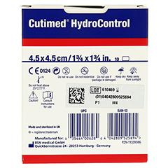 CUTIMED HydroControl Kompr.4,5x4,5 cm 10 Stück - Rückseite