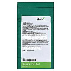 FENCHEL BITTER Tee 250 Gramm - Rückseite