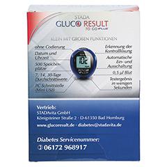 STADA Gluco Result To Go plus Blutzuckermes.mg/dl 1 Stück - Rückseite