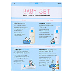 ROCHE-POSAY Lipikar Baby-Set 1 Packung - Rückseite