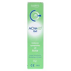 ACNAID Gel bei Akne Medizinprodukt 30 Gramm - Rückseite