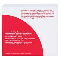 N'YOU Collagen refresher Trinkampullen 30x25 Milliliter - Rückseite