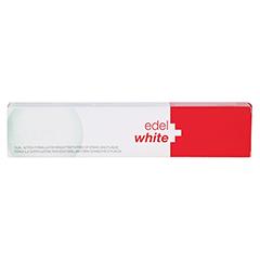 EDELWHITE Antiplaque+white Zahnpasta 75 Milliliter - Rückseite