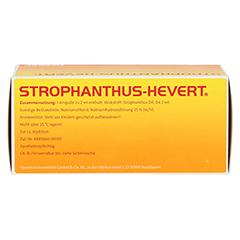 STROPHANTHUS HEVERT Ampullen 50 Stück N2 - Oberseite